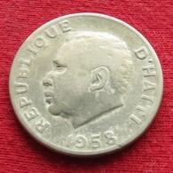 Haiti 10 Centavos 1958  F2ºº - Haïti