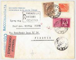 ESPRESSO RACCOMANDATA 1958 PLURIAFFRANCATA (HX223 - 1946-.. République