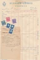 FATTURA 1944 CON DIVERSE MDB  (HX382 - Italia