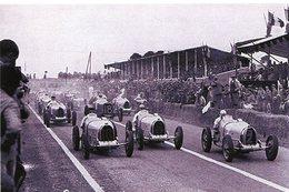 Grand Prix De Reims 1932  -  Bugatti-Alfa-ERA  -  15x10 PHOTO - Grand Prix / F1