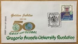 FDC Philippines 1996 - Gregorio Araneta University Foundation - Philippines