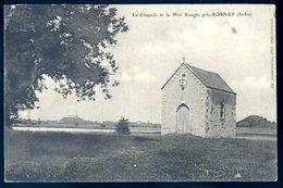 Cpa Du 36 Près Rosnay , La Chapelle Et La Mer Rouge    AVRIL18-09 - France