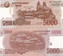 Korea North - 5000 Won 2013 Comm. UNC Ukr-OP - Korea, North