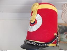 Reproduction Shako Du Chef D'escadron D'Esbats Taille 58 - Headpieces, Headdresses