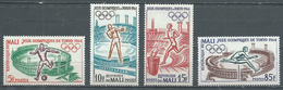 Mali YT N°63/66 Jeux Olympiques De Tokyo 1964 Neuf ** - Mali (1959-...)