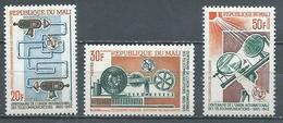 Mali YT N°76/78 Union Internationale Des Télécommunications Neuf ** - Mali (1959-...)