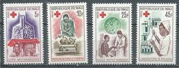 Mali YT N°79/82 Service De Santé Croix-Rouge Neuf ** - Mali (1959-...)