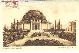 Jerusalén. Universidad. - Postcards