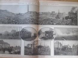 GUERRE 14-18 EXPLOSION  Du Fort De La Double-Couronne à Saint-Denis - Alte Papiere