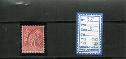FRANCE N° 98 - OBLITERE - 1876-1898 Sage (Type II)