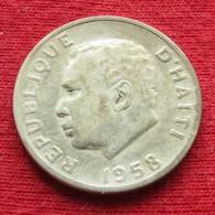Haiti 5 Centavos 1958  F2ºº - Haïti