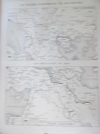 GUERRE 14-18  Carte Du Front Asiatique   Guerre Des Balkans Arménie   Grece  Salonique  Serbie - Alte Papiere