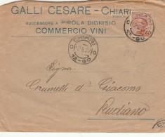 LETTERA 1927 CENT.60 TIMBRO CHIARI-RUDIANO (MYX169 - 1900-44 Vittorio Emanuele III
