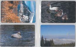 LOT 4 PHONE CARDS ROMANIA (ES2 - Romania