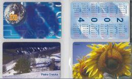 LOT 4 PHONE CARDS ROMANIA (ES4 - Romania