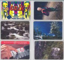 LOT 6 PHONE CARDS ROMANIA (ES5 - Romania