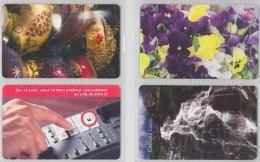 LOT 4 PHONE CARDS ROMANIA (ES6 - Romania