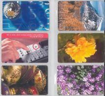 LOT 6 PHONE CARDS ROMANIA (ES7 - Romania