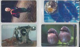 LOT 4 PHONE CARDS ROMANIA (ES8 - Romania