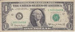 BILLETE DE ESTADOS UNIDOS DE 1 DOLLAR DEL AÑO 1963 LETRA L SAN FRANCISCO  (BANK NOTE) - Billetes De La Reserva Federal (1928-...)