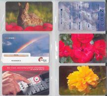 LOT 6 PHONE CARDS ROMANIA (ES9 - Romania