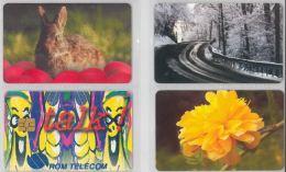 LOT 4 PHONE CARDS ROMANIA (ES10 - Romania