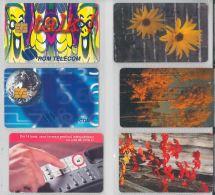 LOT 6 PHONE CARDS ROMANIA (ES11 - Romania