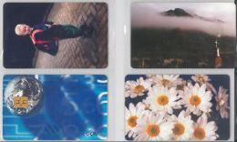 LOT 4 PHONE CARDS ROMANIA (ES12 - Romania