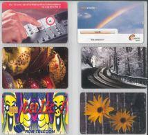 LOT 6 PHONE CARDS ROMANIA (ES13 - Romania