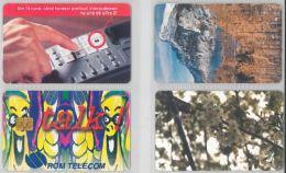 LOT 4 PHONE CARDS ROMANIA (ES14 - Romania