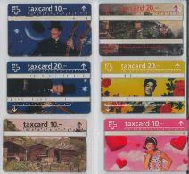 LOT 6 PHONE CARDS SVIZZERA (ES15 - Romania