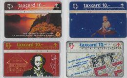 LOT 4 PHONE CARDS SVIZZERA (ES16 - Romania