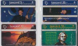 LOT 4 PHONE CARDS SVIZZERA (ES18 - Romania