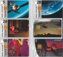 LOT 6 PHONE CARDS SVIZZERA (ES19 - Romania
