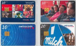 LOT 4 PHONE CARDS SVIZZERA (ES20 - Romania