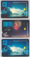 LOT 3 PHONE CARDS TURCHIA (ES33 - Turkey