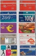 LOT 10 PHONE CARDS BELGIO (ES35 - Belgium