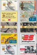 LOT 10 PHONE CARDS DANIMARCA (ES38 - Denmark