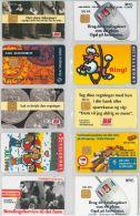 LOT 10 PHONE CARDS DANIMARCA (ES39 - Denmark