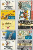 LOT 10 PHONE CARDS DANIMARCA (ES41 - Denmark