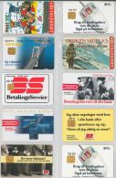 LOT 10 PHONE CARDS DANIMARCA (ES42 - Denmark