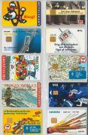 LOT 10 PHONE CARDS DANIMARCA (ES44 - Denmark