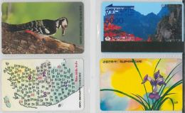 LOT 4 PHONE CARDS COREA (ES50 - Korea, South