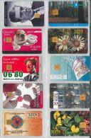 LOT 10 PHONE CARDS UNGHERIA (ES91 - Hungary
