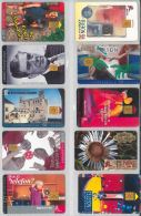 LOT 10 PHONE CARDS UNGHERIA (ES92 - Hungary