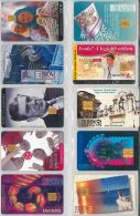 LOT 10 PHONE CARDS UNGHERIA (ES93 - Hungary