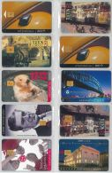 LOT 10 PHONE CARDS UNGHERIA (ES94 - Hungary