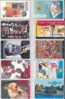 LOT 10 PHONE CARDS UNGHERIA (ES95 - Hungary