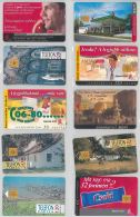 LOT 10 PHONE CARDS UNGHERIA (ES97 - Hungary