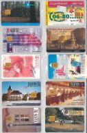 LOT 10 PHONE CARDS UNGHERIA (ES98 - Hungary
